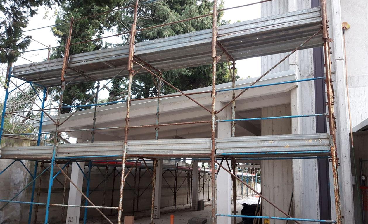 Lavori di ampliamento del Bocciodromo Comunale Loreto