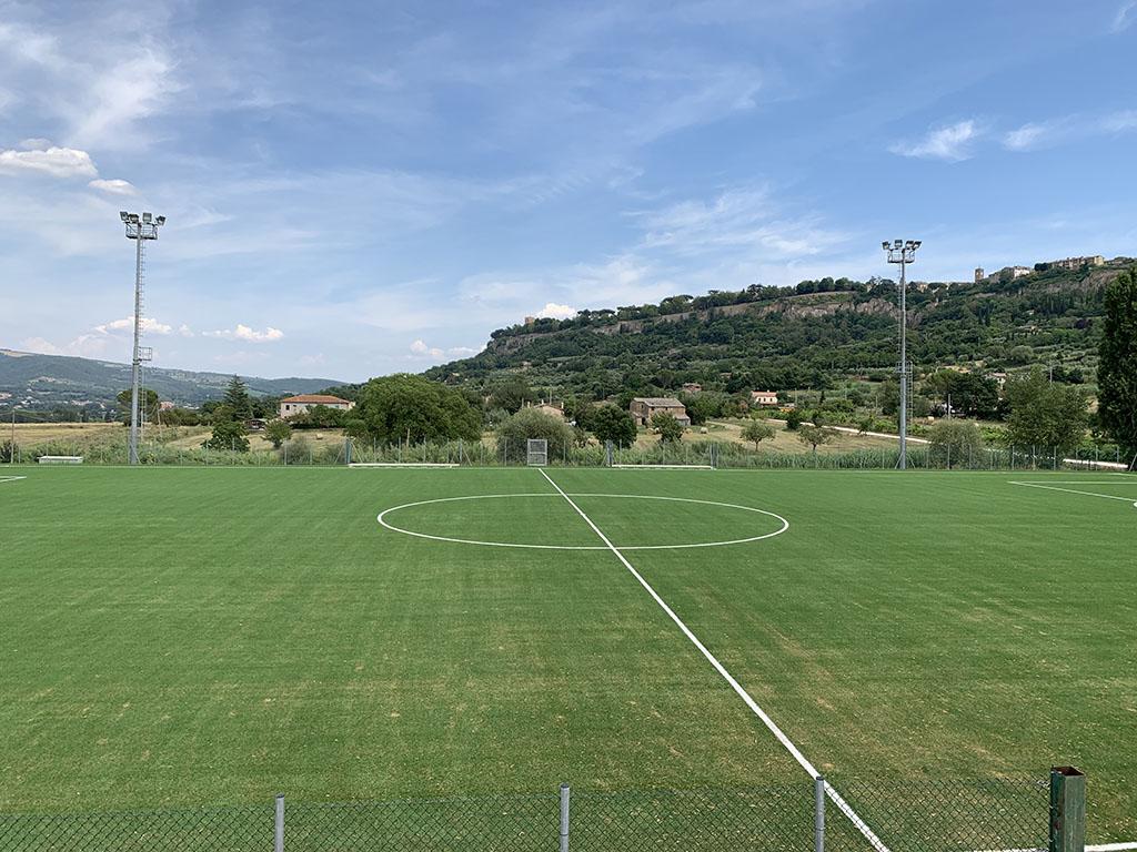 Lavori di ristrutturazione campo da calcio