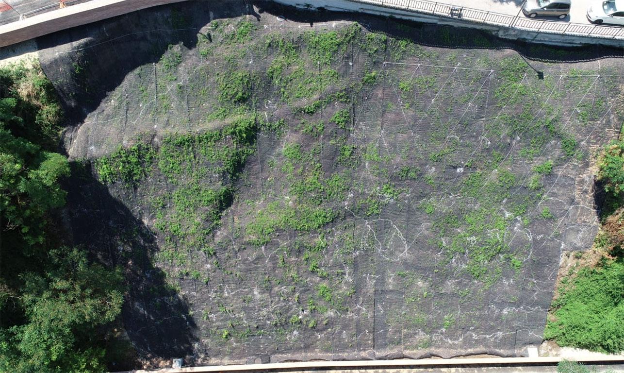 consolidamento del dissesto idrogeologico in atto sul versante settentrionale dell'abitato di Acquaviva Picena